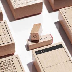 TUNACOCO чернильные печати печать милые вещи кавайный планировщик деревянный штамп пуля Журнал ремесла дуб Qt1710073
