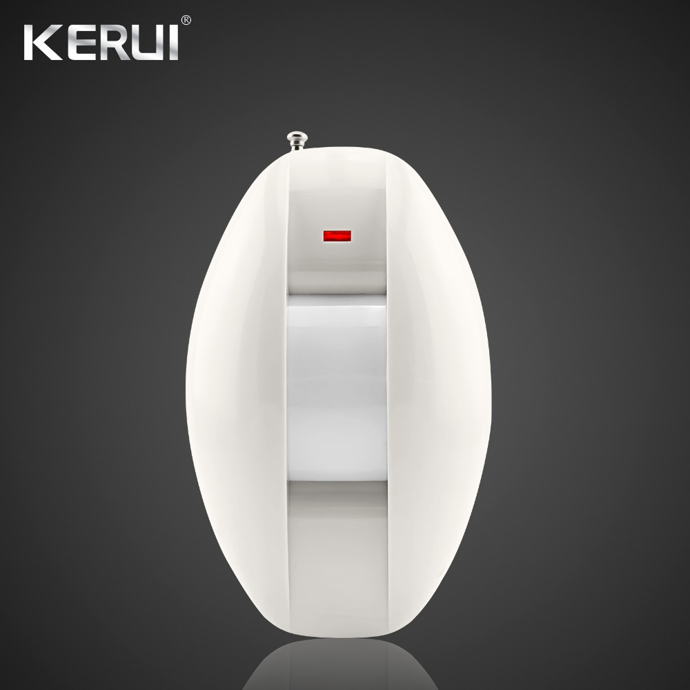 KERUI Wireless Pir Detector Curtain Infrared 433MHz for Wireless GSM PSTN Wifi Home Security Alarm System KERUI G18 G19 W1 W2 big promotions pir infrared beam motion detector for home security gsm wifi pstn alarm system wired wireless beam sensor