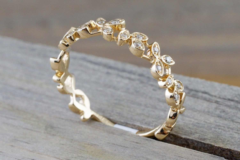 ผู้หญิงอินเทรนด์ข้าวสาลีฝังเพชรออสเตรียคริสตัล AAA Cubic Zirconia 925 แหวนเงินหญิง Anel คุณภาพสูง