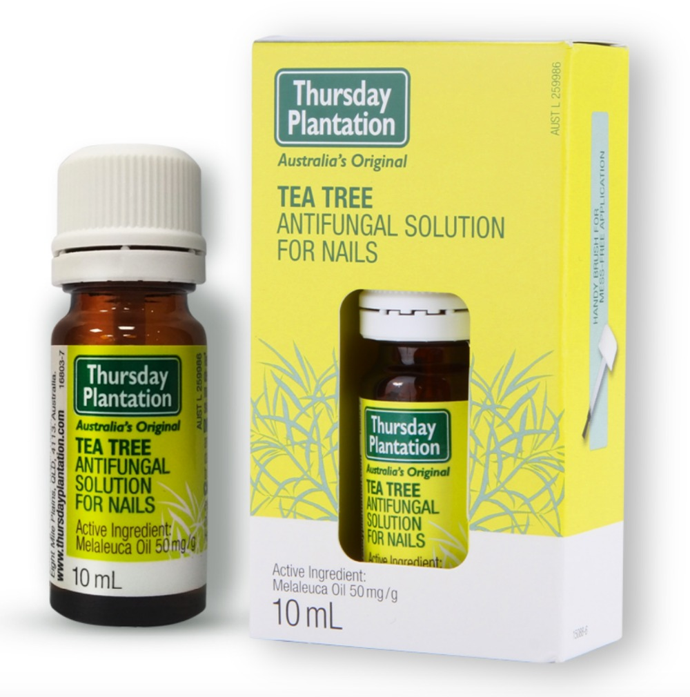 Thursday Plantation Tea Tree Anti-Fungal Nail Solution Control Fungal Infections Relief Of Fungal Infections Of The Nails