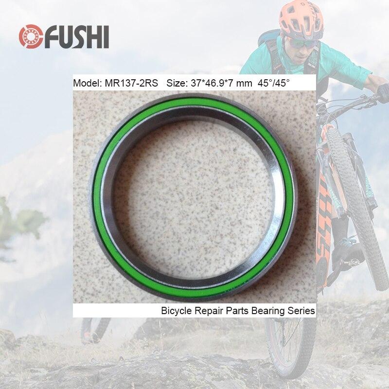 MR137 Bearing 37*46.9*7mm 45/45 ( 1 PC ) Balls Bicycle 1-3/8 Inch Headset Repair Parts Ball Bearings