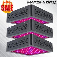 3 шт. marshmarmars II 400 Вт светодиодный свет для выращивания овощей Цветок гидропоники завод лампа полный спектр