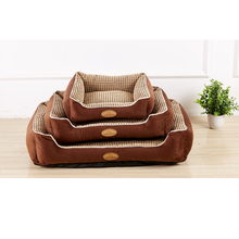 Dog Beds For Small Medium Large Dogs House Mat Pet Nest Soft Cat Kennel Puppy Mattress Cushion Products For Animals ZL404