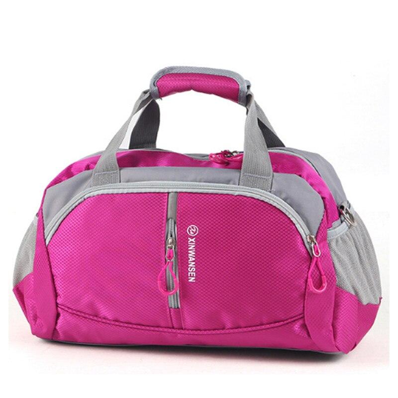 새로운 방수 스포츠 가방 여자 체육관 휘트니스 남자 훈련 여행 야외 어깨 짐 팩 sporttas tassen