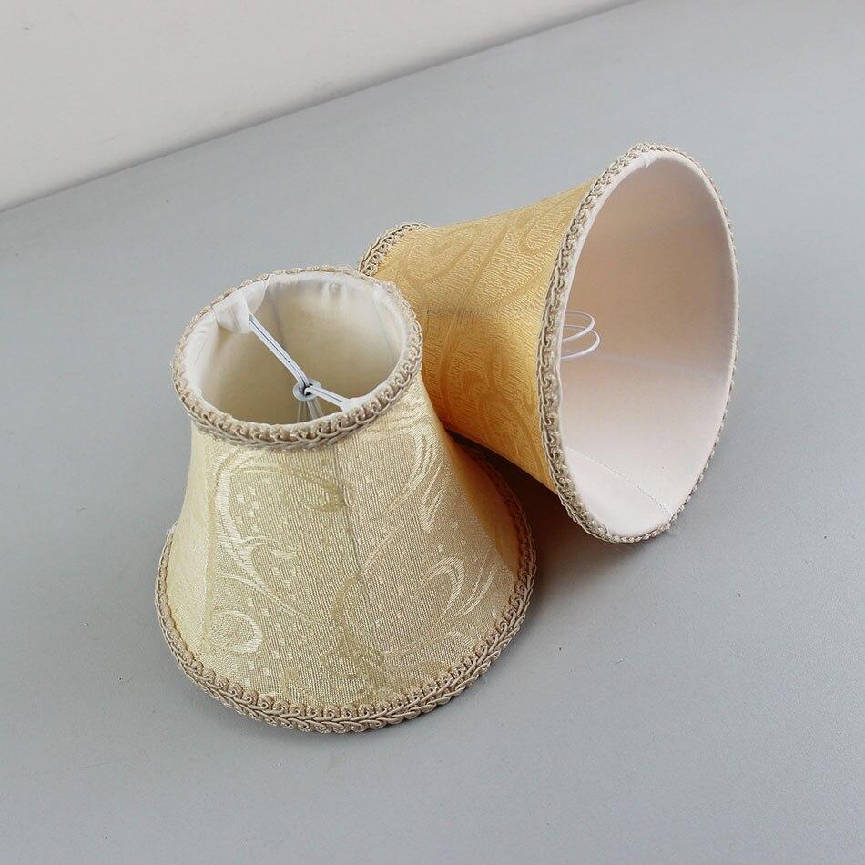Dia 15 Cm602 Zoll Diy Lampe Vintage Stoff Lampenschirm Clip Auf