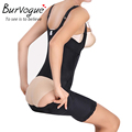 Burvogue hot shapers slimming body shaper e controle da barriga das mulheres full body shaper underwear bundas lifter e cintura shapewear