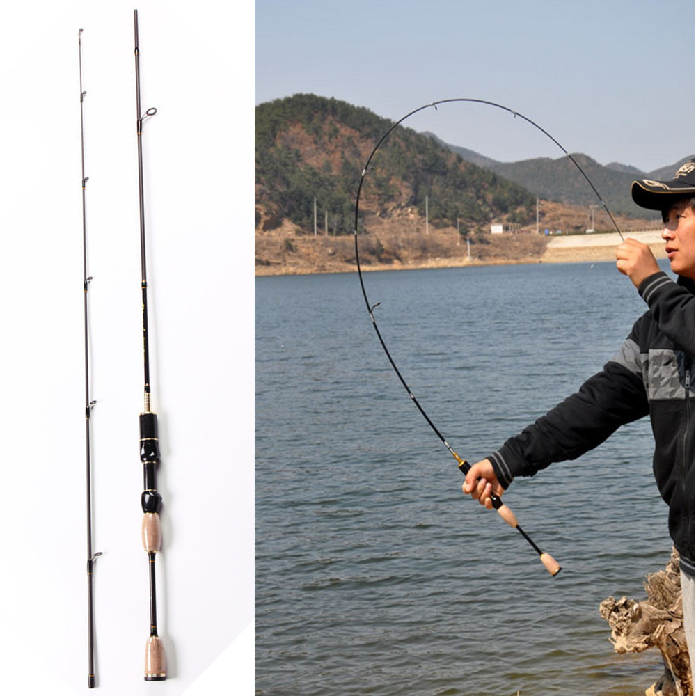 ФОТО UL 1.8M Lure WT 0.8-5g 2-5LB Line WT Carbon Spinning Lure Fishing Rod lure moulinet canne a peche