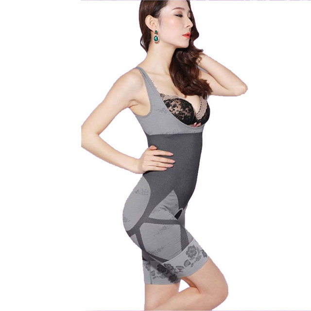 6a565c5c20766 CR Women s High Quality Slim Corset Slimming Suits Body Shaper Charcoal  Sculpting Underwear 6 Size Slimming Underwear