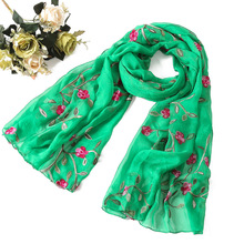 women scarf spring summer silk scarves  (16 colors)