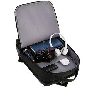 Image 5 - 2019 Mens ธุรกิจแล็ปท็อปกระเป๋าเป้สะพายหลัง USB ชาร์จชาย 14 นิ้ว 15 นิ้วกระเป๋าคอมพิวเตอร์กันน้ำ Bookbags กระเป๋าเดินทางผู้ชาย Mochila
