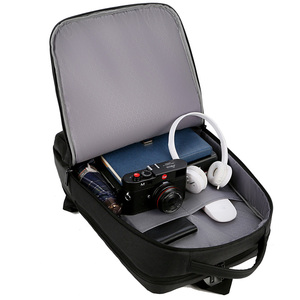 Image 5 - 2019 망 비즈니스 노트북 배낭 usb 충전 남성 14 15 인치 컴퓨터 가방 방수 bookbags 남성 여행 mochila