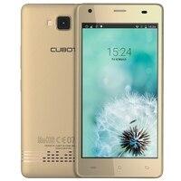 CUBOT Echo Android 6.0 Smartphone 5.0 Pouce MTK6580 Quad Core 1.3 GHz Téléphone Portable 2G + 16G 13.0MP HD écran 3G Déverrouiller Mobile Téléphone