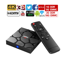 M96X mini Android6.0 Smart Set Top BOX Mini Caixa de TV SuppotAmlogic Kodi S905X Quad Core 2.4G Wi-fi 17.3 1G/8G 2G/16G Media Player