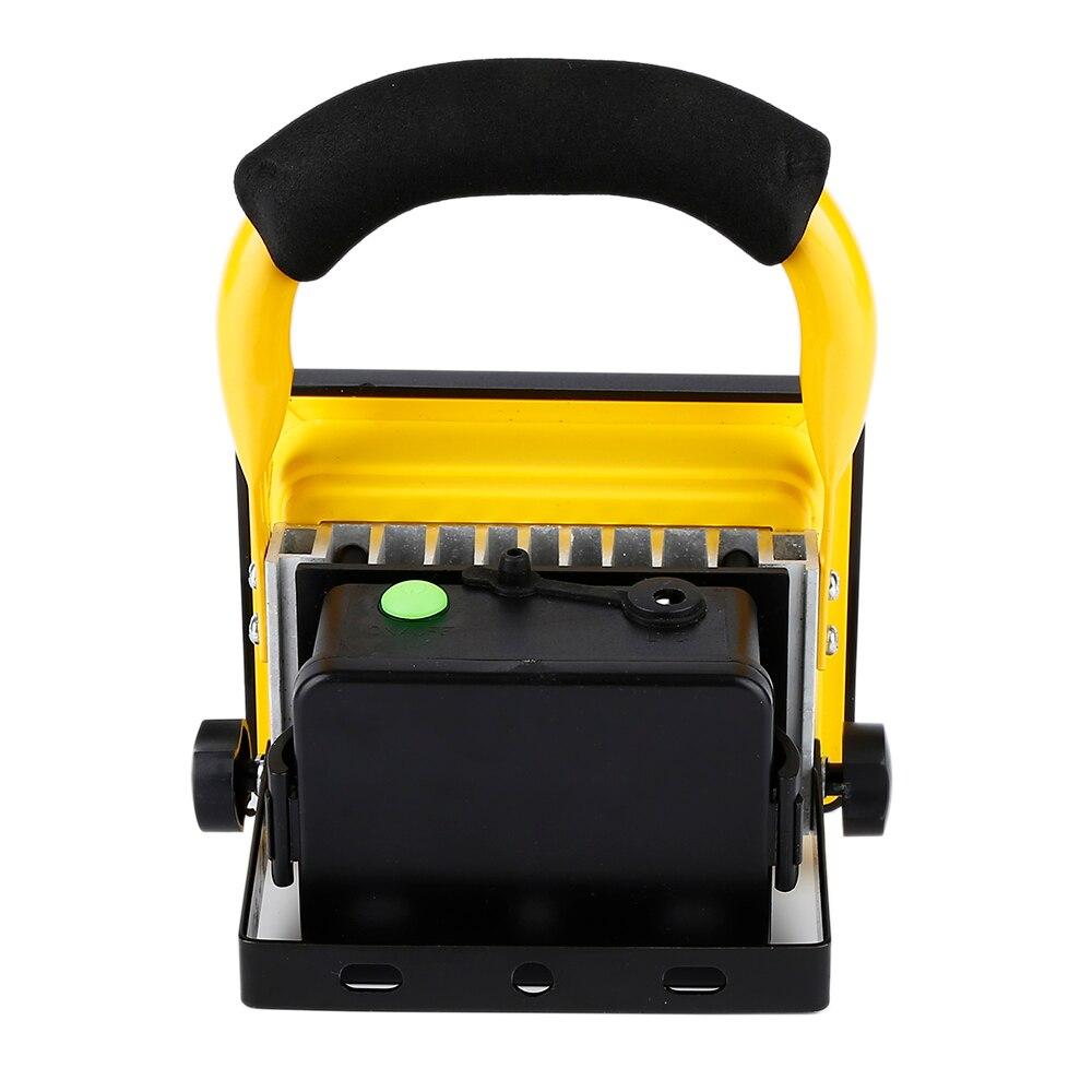 Waterproof 1000lm Rechargeable Flood Portable 220V Iron Outdoor Emergenency Light Garage Lamp Construction Site Spotlight