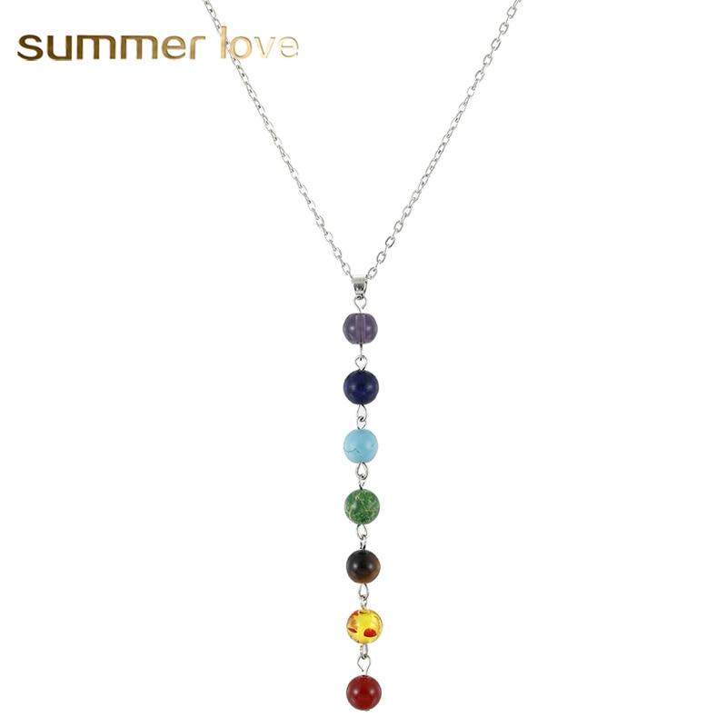 MMC Stone Key Silver Pendants Necklaces