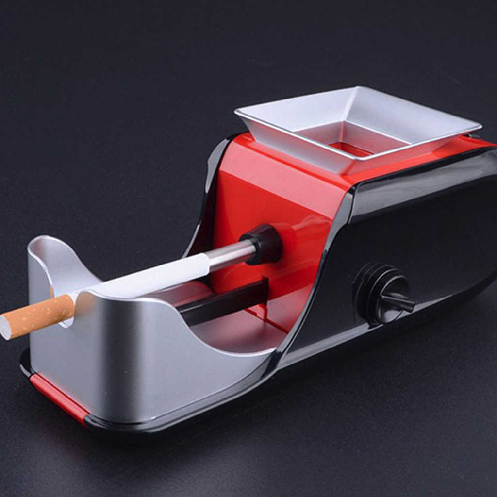 New Electric Easy Automatic Cigarette Rolling Machine Tobacco Injector Maker Roller Automatic Tobacco Machine EU US Plug J16