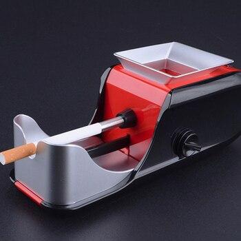 New Electric Easy Automatic Cigarette Rolling Machine Tobacco Injector Maker Roller Automatic Tobacco Machine EU US Plug J16