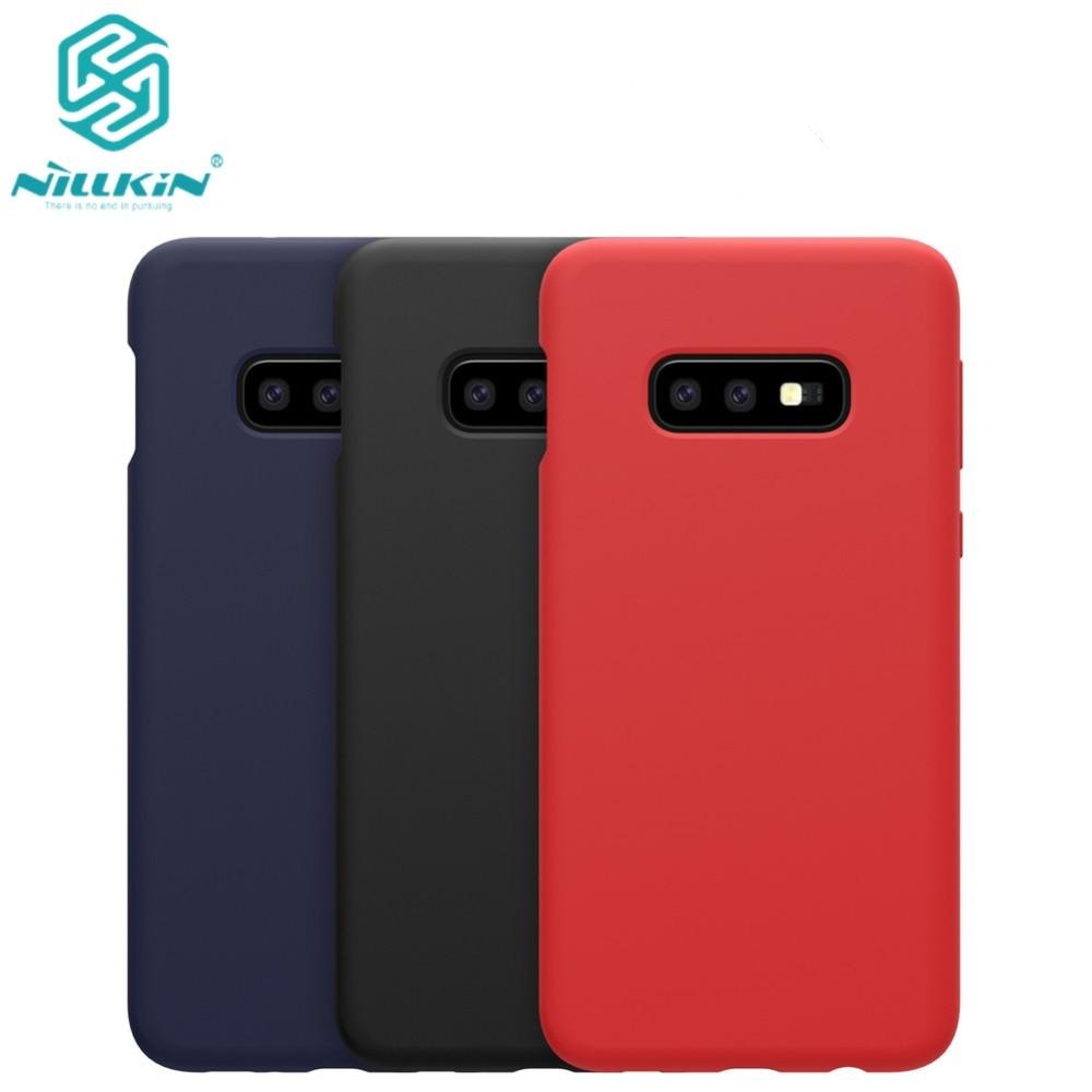 10pcs lot Wholesale NILLKIN Flex Pure CASE For Samsung Galaxy S10e S10 Lite Liquid Silicone Rubber
