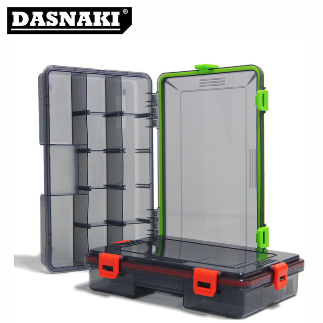 DASANKI Fishing lure Box high capacity Fishing gear storage box Multi-function Light Solid environmentally friendly hooks box