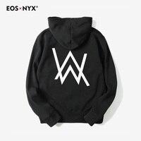 Eosnyx Mens Hoodies Moletom Sweatshirts DJ Alan Walker Hoodie Fashion Hooded Sudadera Hombre