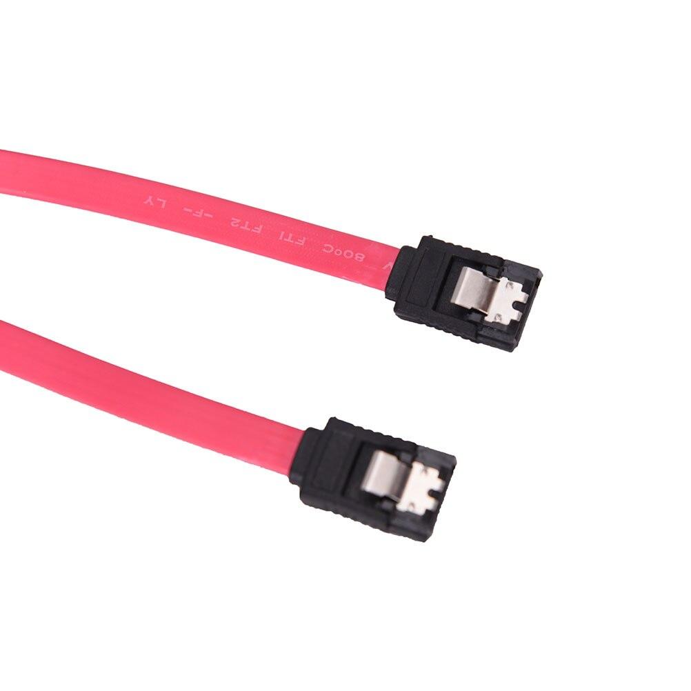 40cm Serial ATA SATA 3 RAID Data HDD Hard Drive Disk Signal Cables Yellow Red Straight High Speed SATA Data Cable 1PC 2pcs high quality hdd ssd sata3 0 iii 6gb 50cm straight cables right angle cable serial ata hard disk data line soft beautiful