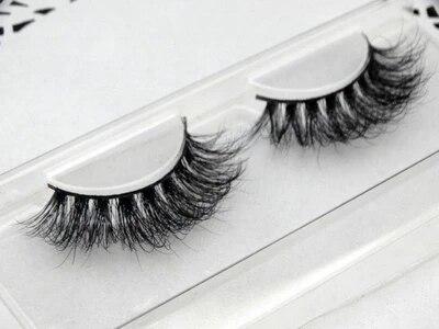 Pure Handmade 100% real Mink False eyelashes 2