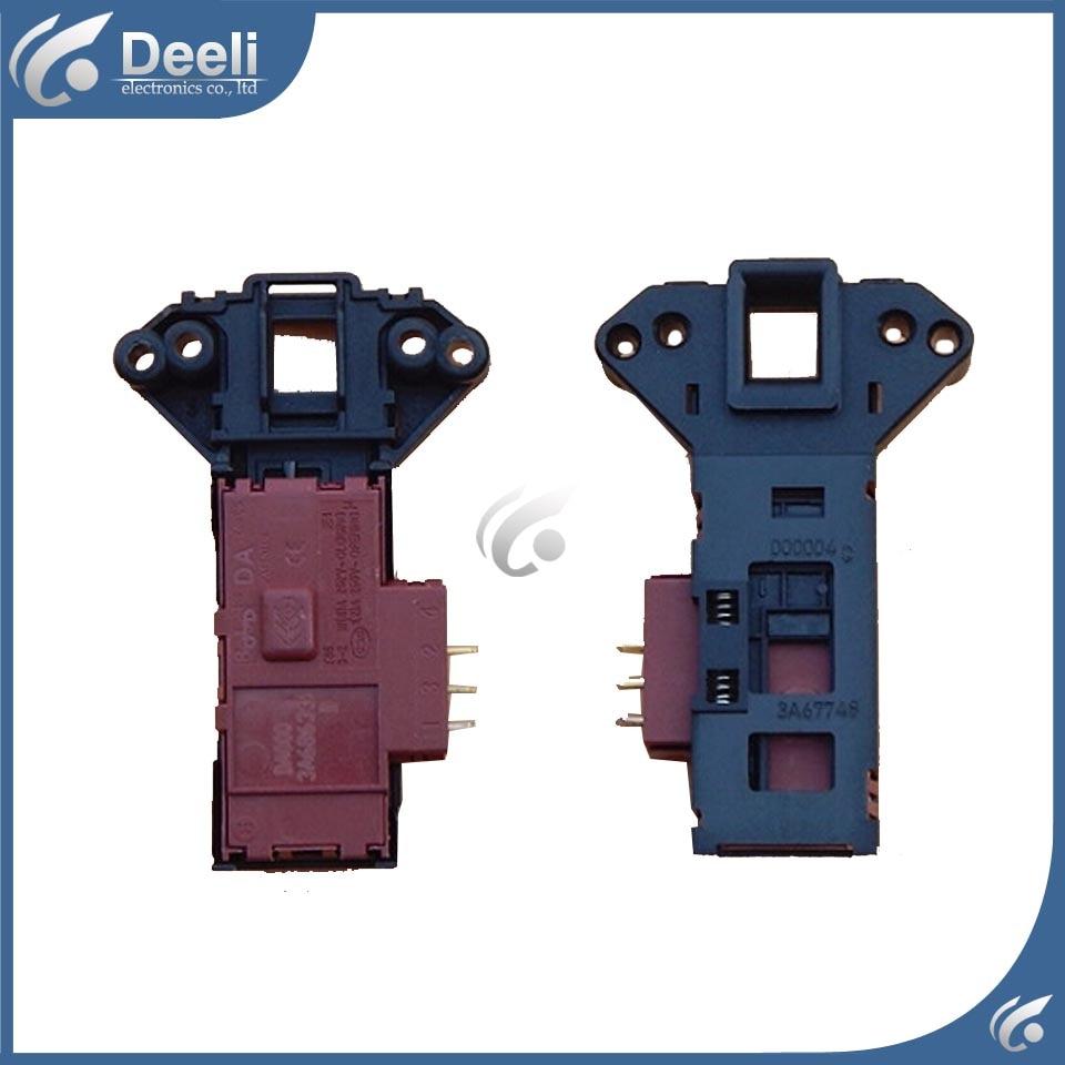 Original new for Haier washing machine Door lock delay switch XQG52-HDY1200A/XQG50-600A/XQG50-31BT electronic door lock 1pcs da005 washing machine electronic door lock micro delay door switch 505c xqg52 d808