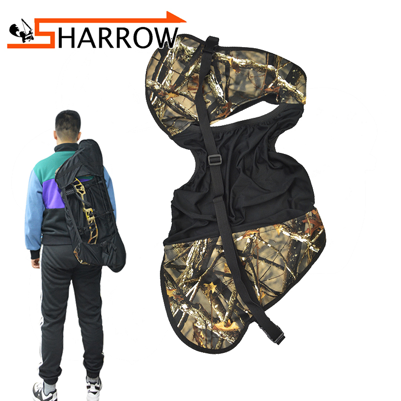 Hospitable Archery Bow Sling Case Backpack Bag Holder 64*39cm For Compound Bow Outdoor Shooting Hunting Accessory