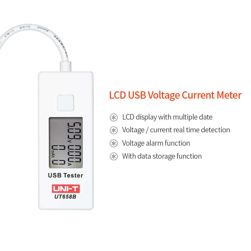 Digitale Voltage Current Meter USB tester LCD U Disk Voltmeter Ameter Opladen Capaciteit Tester DC3 ~ 9 v 0 ~ 3.5A voltage indicator