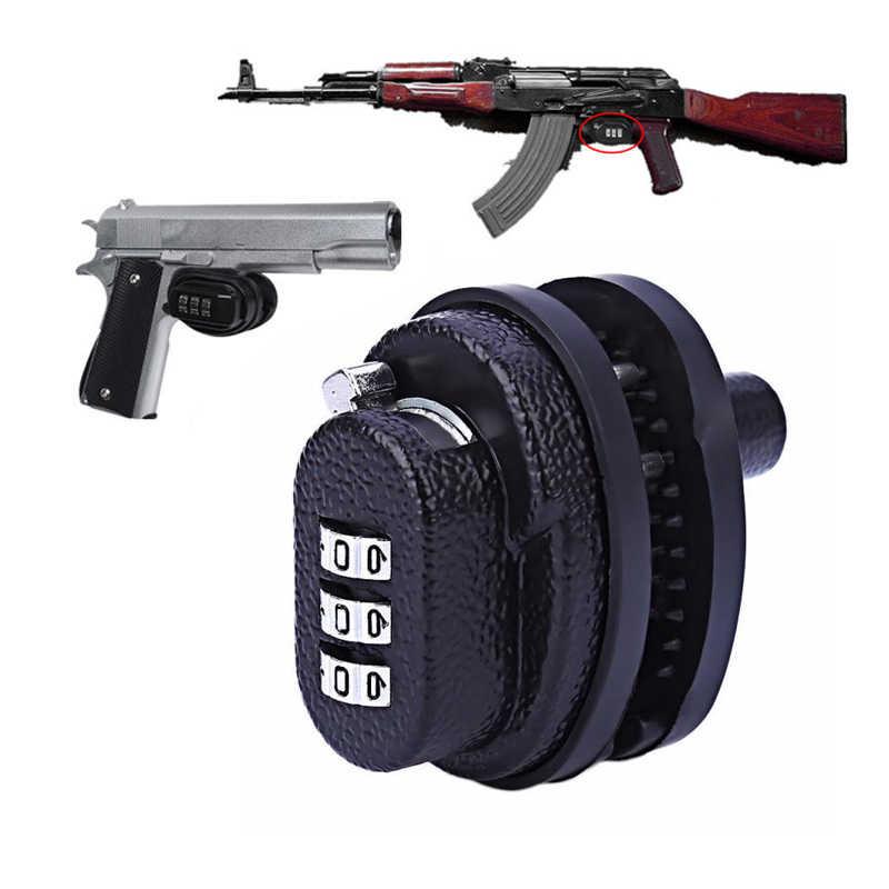 Combination Trigger Lock Gun Lock Heavy Duty Lock Trigger Protective Key Lock FI