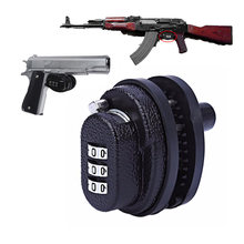 3 циферблатный замок для пистолета из цинкового сплава с паролем