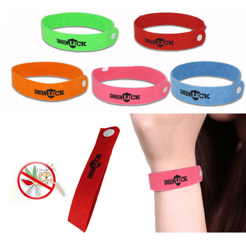 Non-toxic Bracelet From Mosquito Repellent Bracelet Wristband Outdoor Baby Child