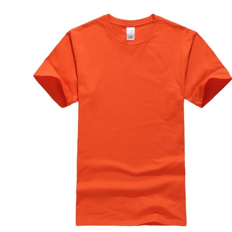 Baseball Jacket Sports Round Neck Pure Color Mens Cotton Short Sleeved Culture Shirt Golf T-shirt Tour Team Costume