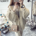 Women Cardigan Sweater 2016 Winter New Fashion Computer Knitted Cardigans High Quality Solid Pull Femme Sweter Mujer SZQ054