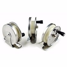 1PC High Speed Aluminum Alloy Fishing Reels Saltwater Sea Ice Simple Fishing Spinning Reels Gear Cheap Hand Wheel Fishing Reels
