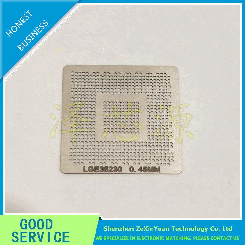 2pcs/lot  LGE35230 LCD 0.45 MM aquecimento direto BGA Template Stencil