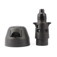 7 Pin Trailer Connector Waterproof Plug Socket For Car Truck 7Pole CY446 CN