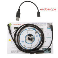 Hot 5 5mm 7mm Lens 1M 2M 3 5M 5M Android USB Endoscope Camera Flexible Snake