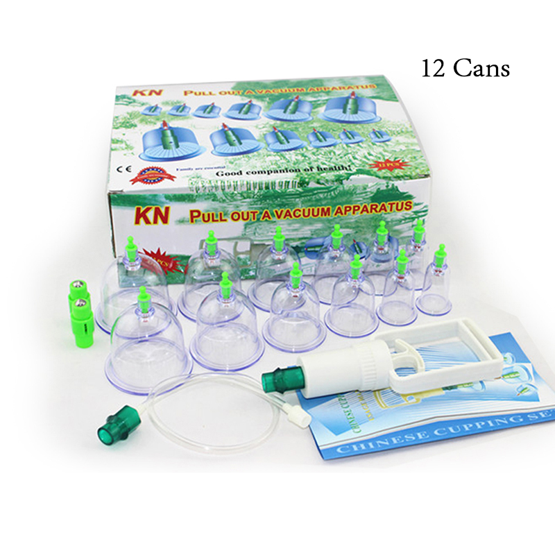 12 Cans Cupping Set Chinese Medical Vacuum Body Cupping for Health Care Therapy Set Relaxation Massage Cupping Cans пылесос thomas smarttouch fun
