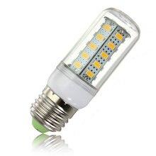 E27 светодиодный 45 w 36 smd 5730 теплый белый/белый свет кукурузный