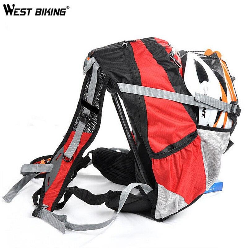 WEST BIKING Горный рюкзак для велоспорта для верховой езды приспособления для езды на велосипеде посылка чтобы отправить дождевик 20L Велоспорт с...