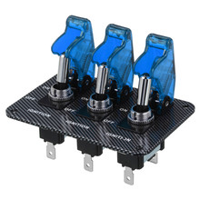Good Quality Car Toggle Switch with Blue LED Indicator (DC 12V ), for Car DIY цены