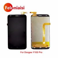5 0 For Doogee Y100 Pro Full Lcd Display With Touch Screen Digitizer Panel Assembly Complete