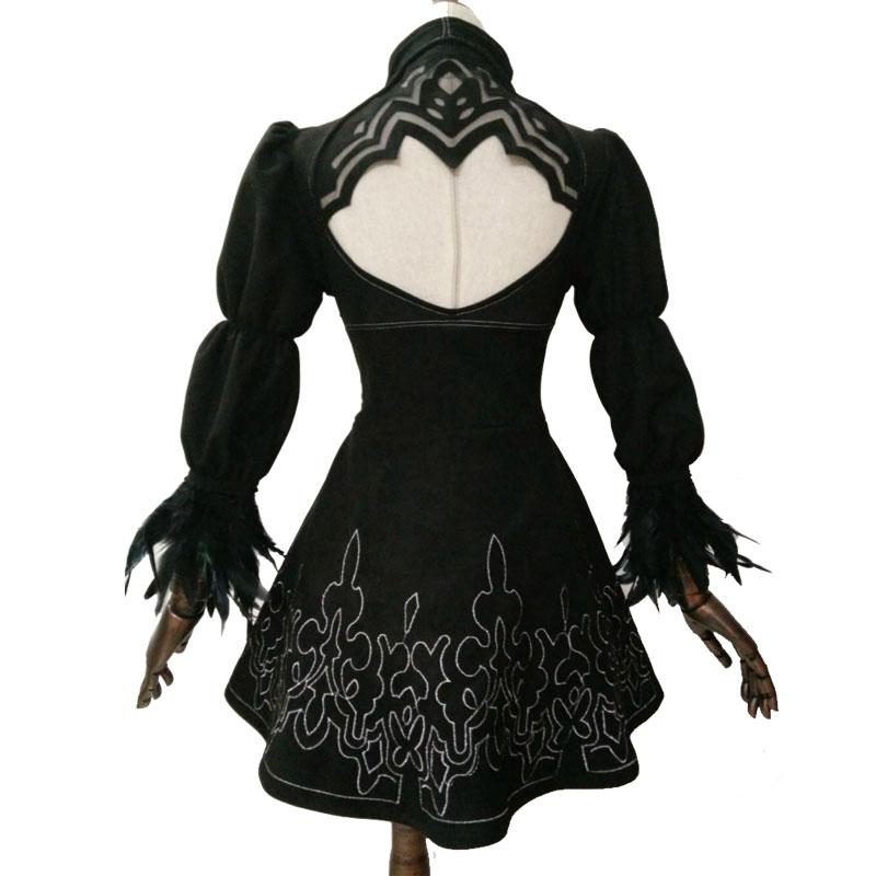 Nier: Automata YoRHa №2 Model B Cosplay Geyim Uniformaları Qadın - Karnaval kostyumlar - Fotoqrafiya 3
