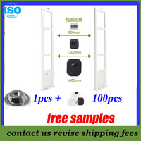 EAS 8 2Mhz Eas System With Free Solution Rf Antenna Anti Shoplifting System 2 Door 100
