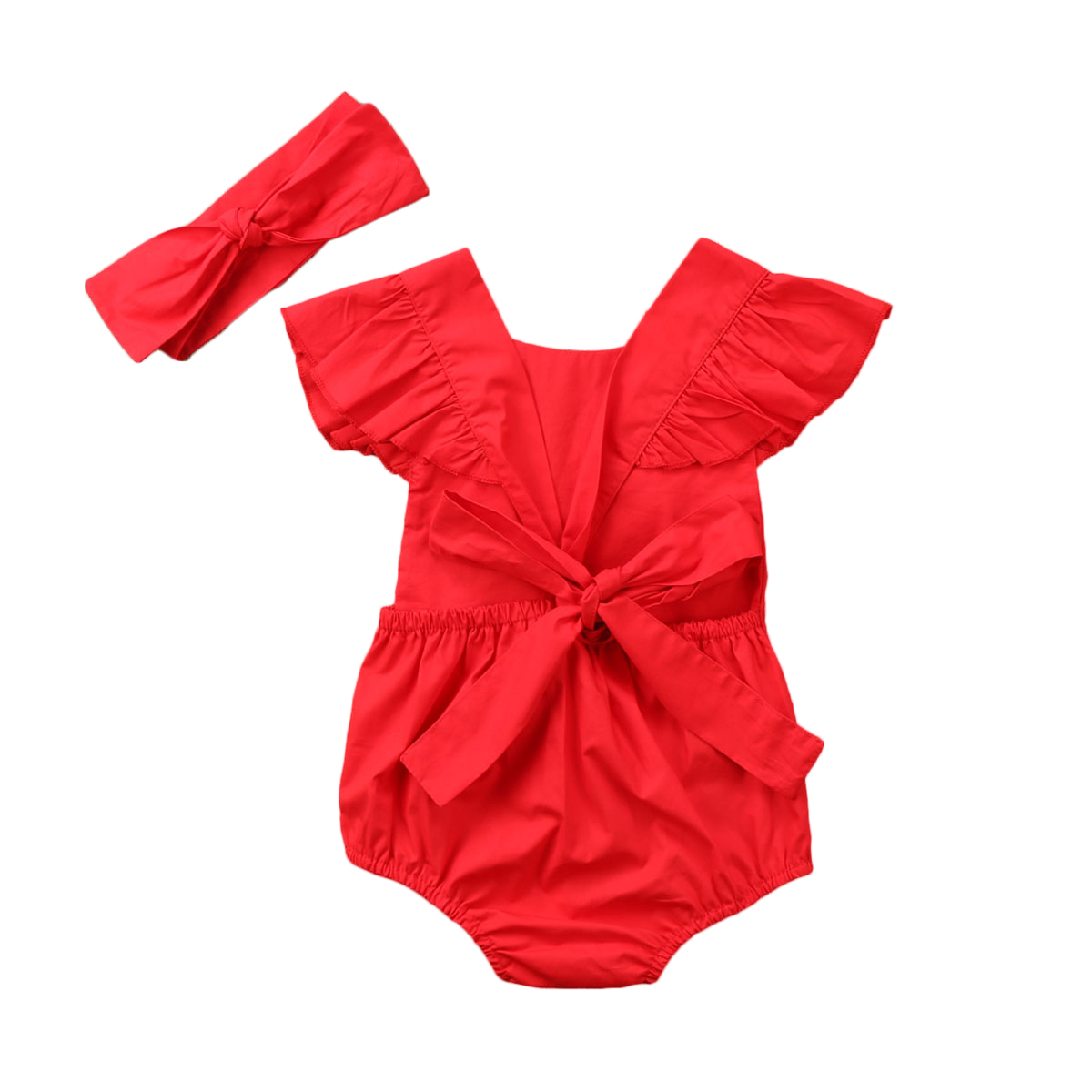 Christmas Newborn Toddler Infant Happy Baby Girl Clothes Outfits Floral Cotton Romper Sleeveless Bodysuit Children Clothing