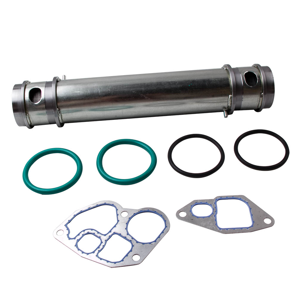 For 1994 2003 Ford 7.3L Diesel Engine OIL COOLER Kit w/ Gasket Seals Rings E 350 E 450 E 550 F 250 F 350 F 450