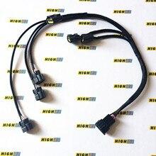 Катушка зажигания пакет+ провода с оплеткой разъем подходит для Nissan Skyline R34 Neo GT ER34 GTT RB25DET STAGEA WHC34 WGC34 lorl RB25