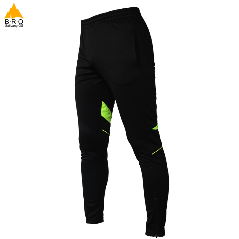 Men/Women Outdoor sports Windproof Trousers Cycling Bike Pants Clothing Tights Trousers Bicycle Pants Bike Equipment Black