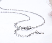 6 Sizes Available Slim 925 Sterling Silver Cross Rolo Chain Necklace Women Girls 35/40/45/ 50/60/80cm+5cm Jewelry kolye collares(China)